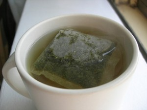 Picture of green tea, an antioxidant know to prevent hair loss in men and women
