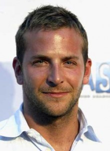 Picture of Bradley Cooper before his rumored hair transplant