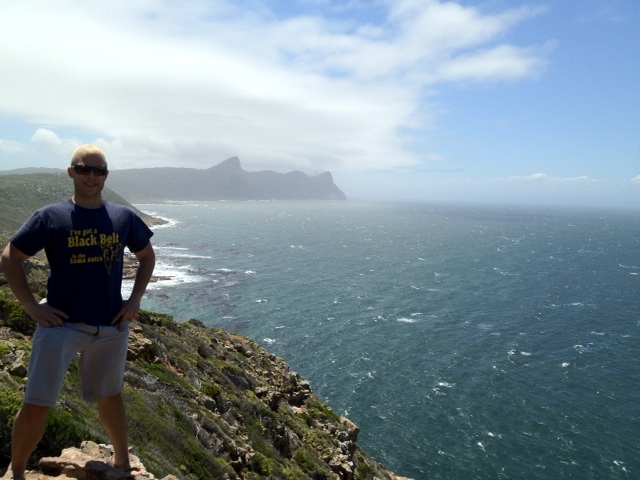 Picture of Michael in Cape Town after hair replacement for men.