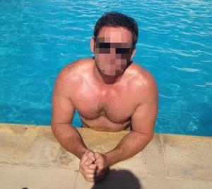 sirius67 swimming after his hair transplant